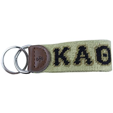 Kappa Alpha Theta Needlepoint Key Fob by Smathers   Branson at ... 10203f922