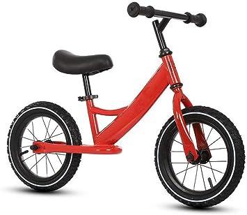 Bicicleta para niños bicicleta de dos ruedas sin pedal, sin pedales, entrenamiento con ruedas, bicicleta de rodillas rueda de aprendizaje rueda para bebés rueda de bebé adecuada para niños y niñas de: