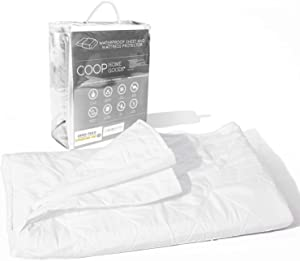 "Coop Home Goods - 4 Layer Washable Incontinence Pad (60"" x 39.5"") - Absorbs Up to 6 Cups - Waterproof and Hypoallergenic - Soft, Noiseless and Reusable Mattress Protector - Oeko-TEX Certified - Queen"