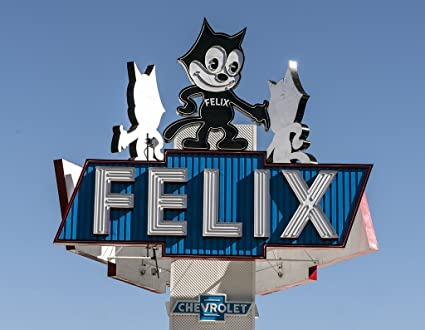 Los Angeles, CA   Photo     Appropriate Sign For The Felix Chevrolet  Automobile Dealership