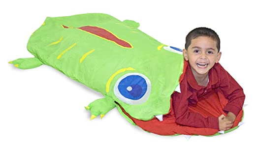 13 opinioni per Melissa & Doug 16208- Sacco a Pelo Alligatore