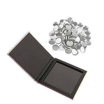 MagiDeal Caja Paleta Magnética Vacía de Maquillaje Contenedor de Sombra de Ojos Blush Polvos + 100 Piezas Cacerolas de Maquillaje: Amazon.es: Juguetes y ...