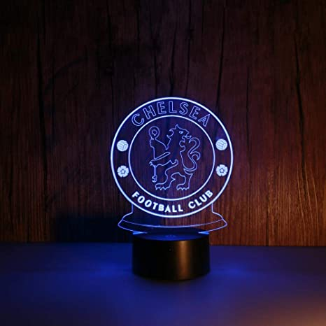Led Chelsea 3D Night Light - Optical Illusion Lamp 7 Colours