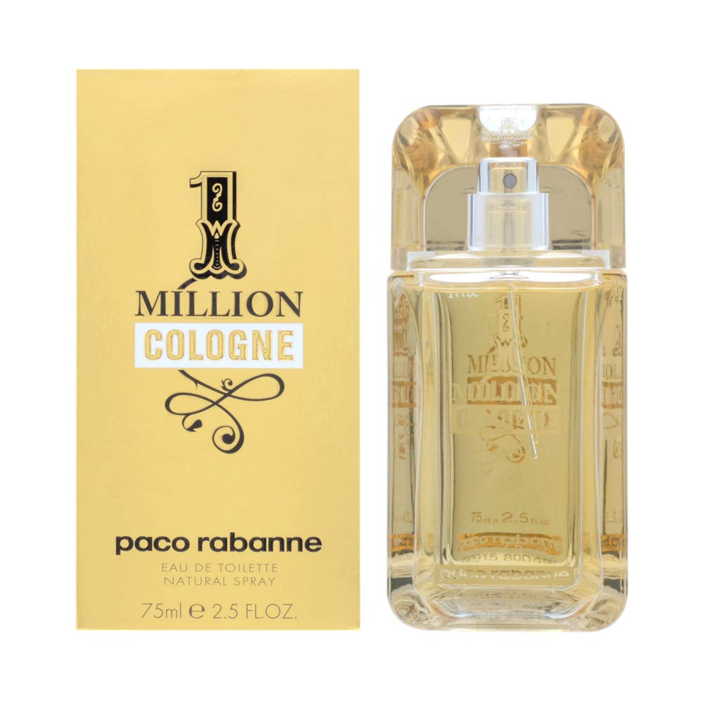 Paco Rabanne 1 Million Cologne agua de colonia Vaporizador 75 ml: Amazon.es: Belleza