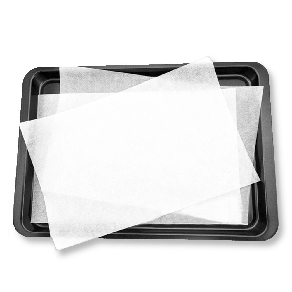 Weoxpr 100 PCS Precut Parchment Paper Cookie Baking Sheets - 12 x 16 Inches - Perfect for High Temperature Baking(White) by Weoxpr (Image #5)