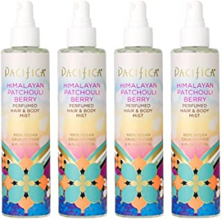 product image for Pacifica Beauty Himalayan patchouli berry perfumed hair & body mist, 6 Fl Oz (4 Count)