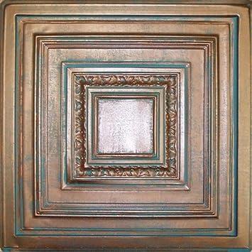 Fantastic 12 X 12 Ceiling Tiles Big 12X12 Styrofoam Ceiling Tiles Square 12X24 Ceramic Tile Patterns 16 Ceiling Tiles Old 20 X 20 Floor Tile Patterns Coloured3 X 6 Subway Tile Amazon.com: Antyx Antique Copper Patina (24x24\