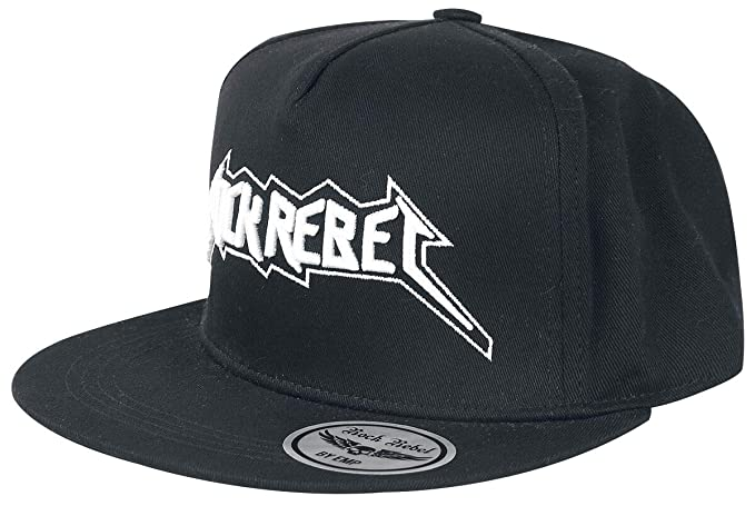 Rock Rebel by EMP Whos Wearing The Cap Gorra Negro: Amazon.es ...