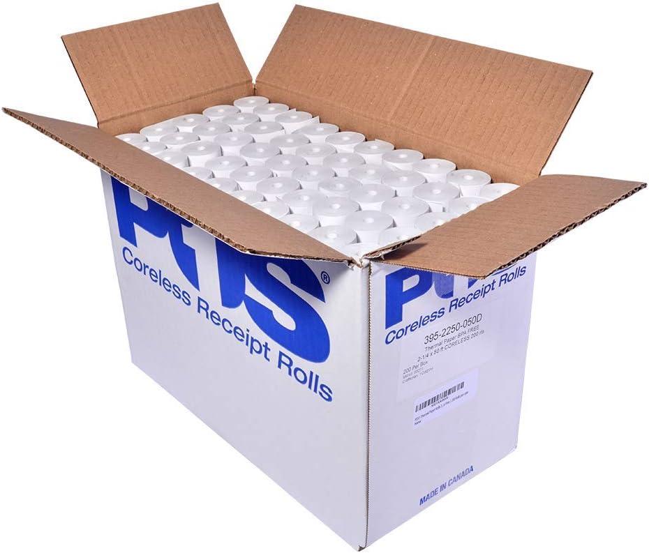 200 57x45 Eftpos Thermal Receipt Rolls $0.52 per roll