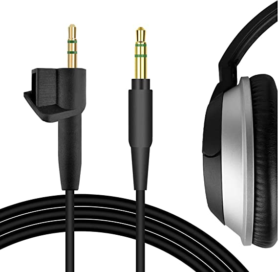 Geekria Audio Cable for B0SE Around-Ear AE2 AE2i Works With Apple Device Android iPhone AE2w Headphones Replacement Cable with Inline Mic//Audio Cord with Volume Control and Microphone