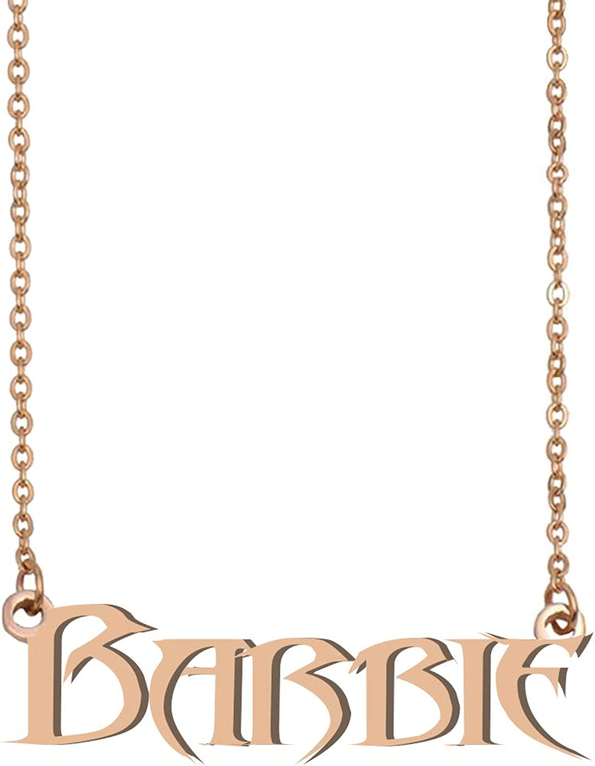 GR35Z9 Personalized Custom Name Necklace Gifts for Womens