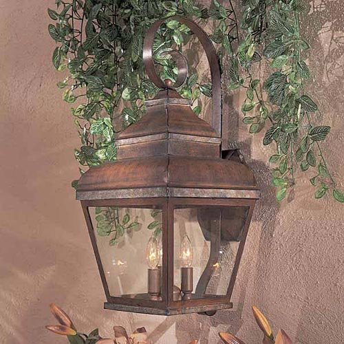 Minka Lavery Outdoor Wall Light 8263-161 Mossoro Exterior Wall Lantern, 180 Watts, Bronze