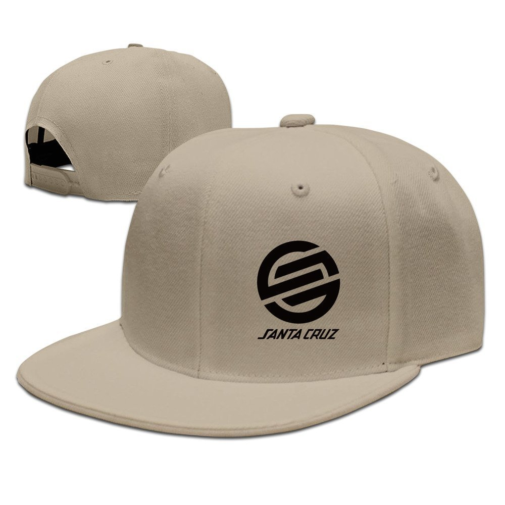 Hittings Santa Cruz Surf Skate Hip Hop Gorra de b/éisbol Tiene Cap One Size Natural