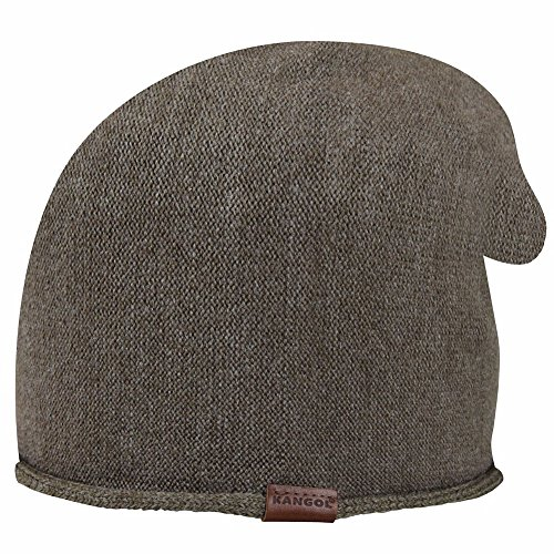 Kangol Men's Long Pull on, Morel, One Size (Hat Pull On Wool)