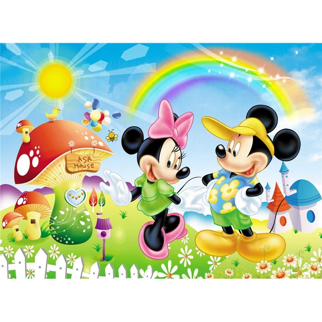 apresurado a ver A Puzzle WYF Madera para niños pequeños Póster Póster Póster con póster de Mickey Mouse, 3 años de Edad, Regalos de Boy Girl Piso 500 1000 1500 Piezas para niños de 3-5 años P614 1000pc  deportes calientes