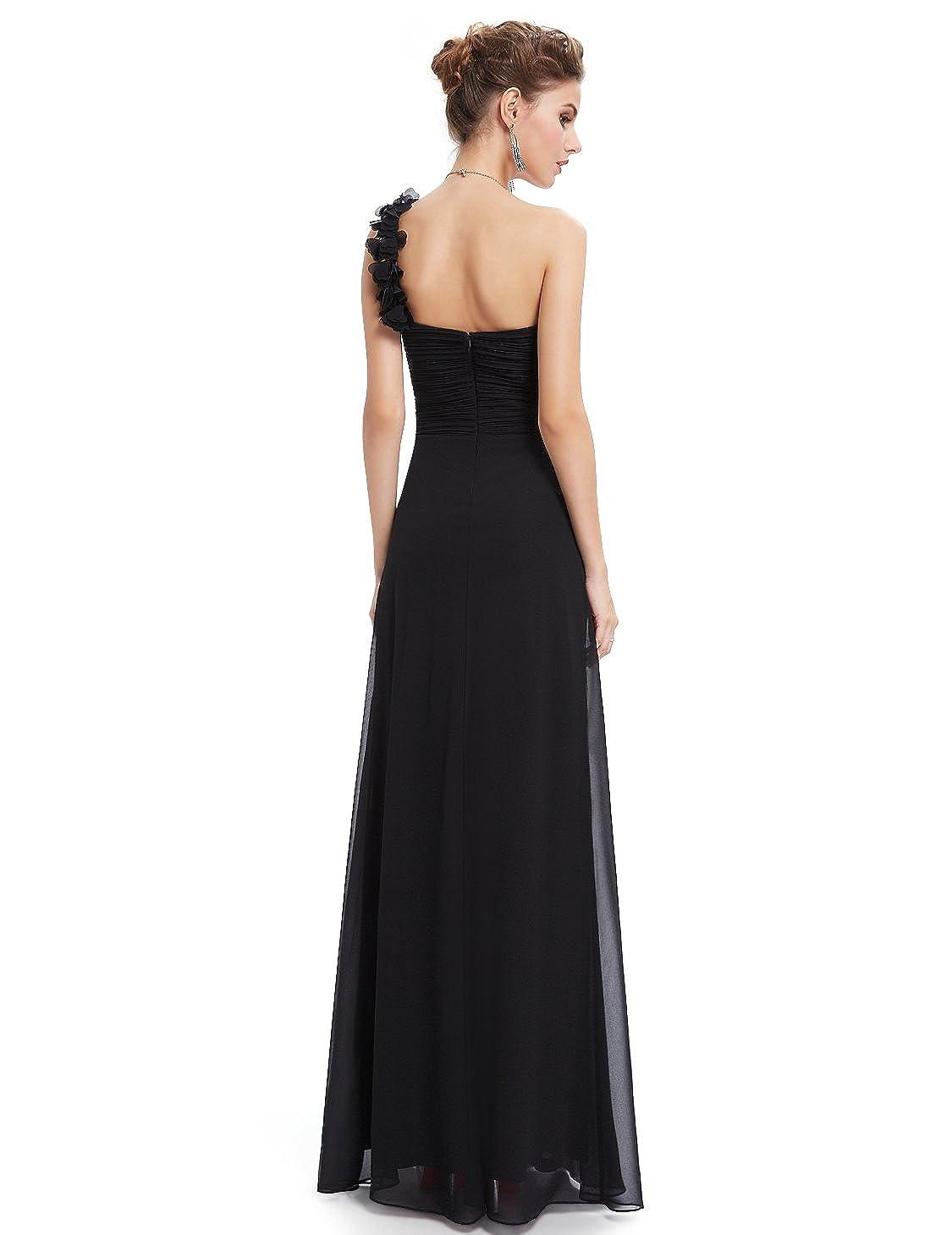 Ever Pretty Flower One Shoulder Long Bridesmaids Evening Party Dress