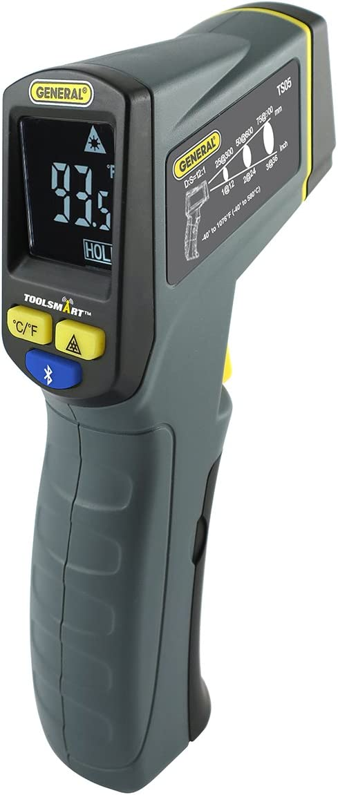 General Tools IRT3 Non-Contact Mini Infrared Thermometer