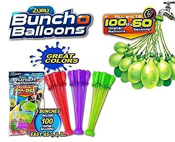 Foilbag es AquaorangeyellowAmazon Mix O 3pk Bunch Balloons dCWrBexoQ