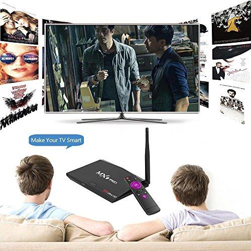 MX9 Pro RK3328 Quad Core 64Bit 4GB 32GB Smart Android 7.1 TV Box 4K Dual WIFI BT by NOOOSHI (Image #7)