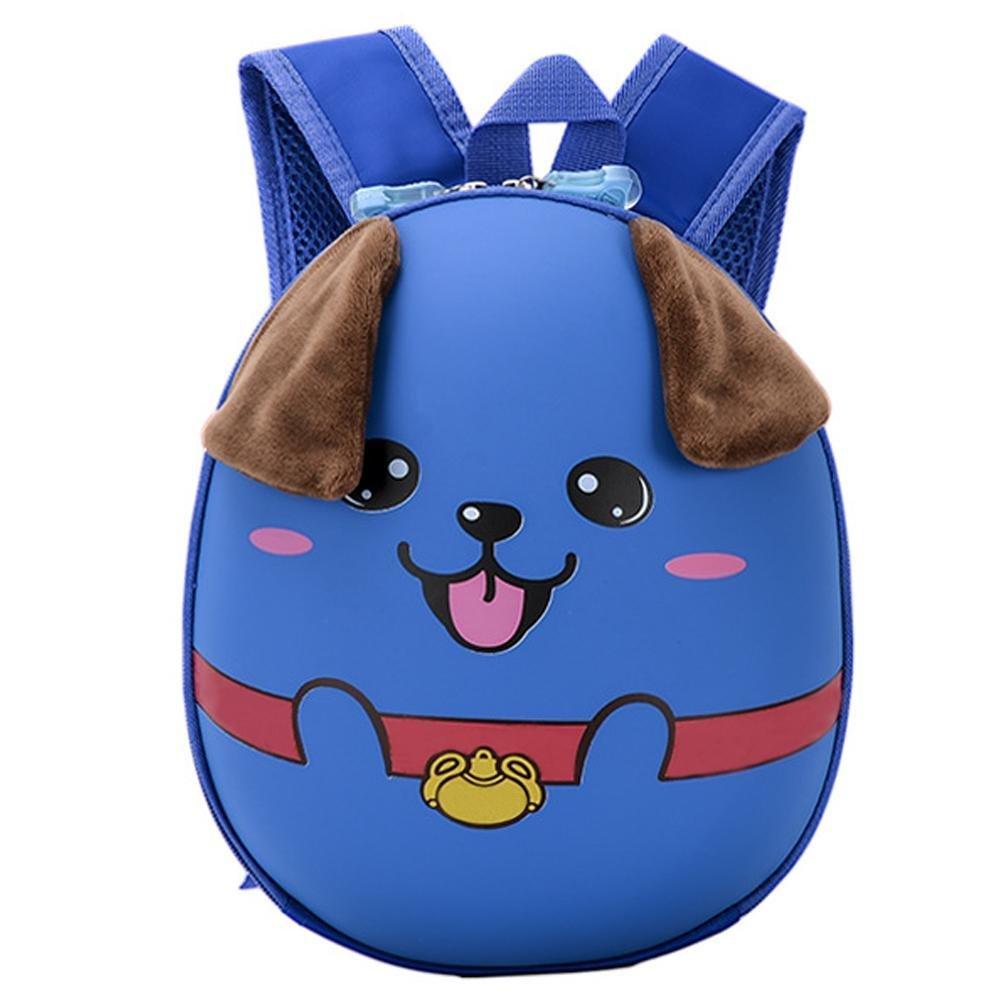 Sac à dos à la mode imperméable à l'eau de style coréen Cartoon chiot motif Hard Shell enfants sac iBelly