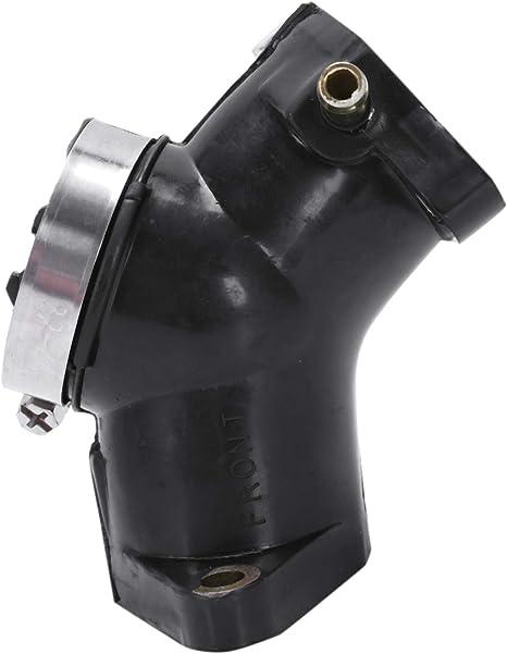 TOOGOO Pi/èces De Moto Interface De Carburateur pour Yamaha Xv125 XV 125 Virago Carburateur Prise De Pad Collecteur De Sortie