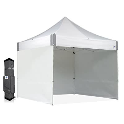 E-Z UP ES100S Instant Shelter Canopy, 10 by 10', White : Outdoor Canopies : Garden & Outdoor