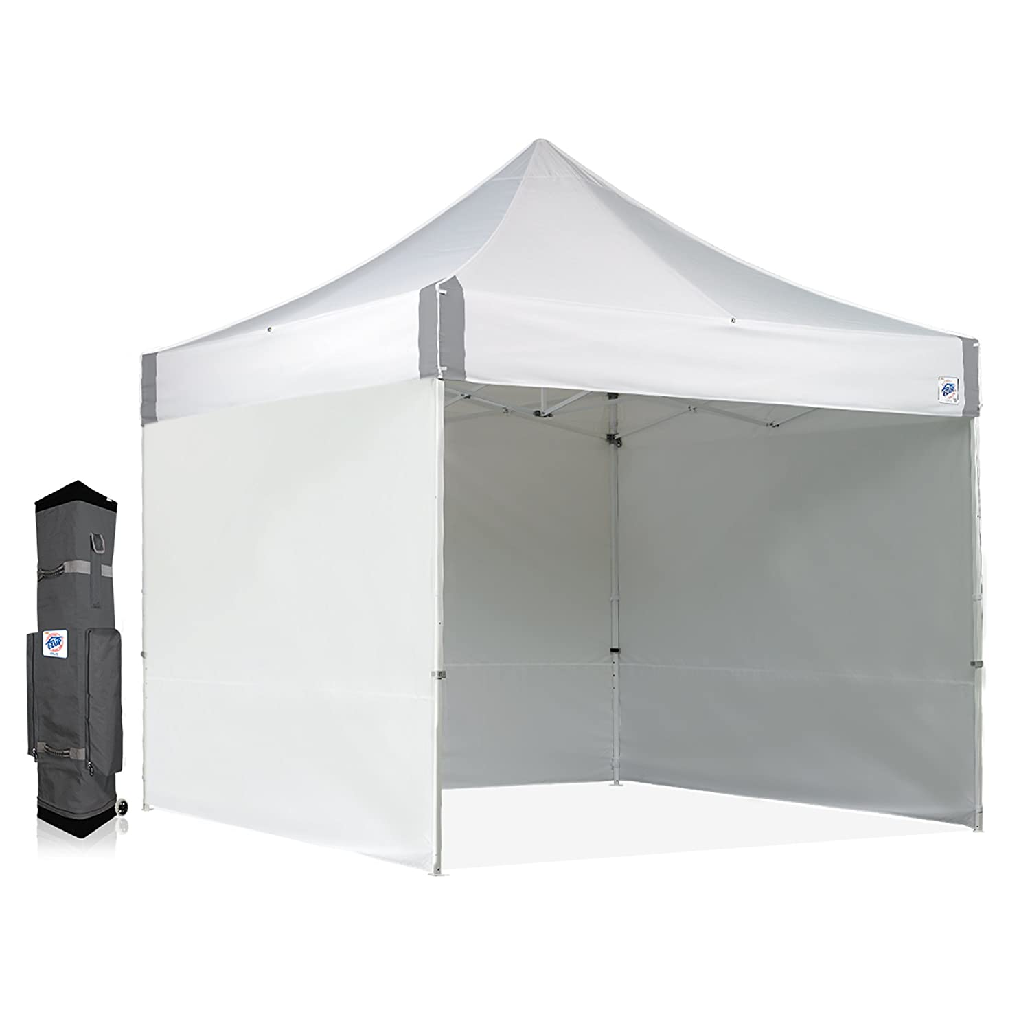 Amazon com : E-Z UP ES100S Instant Shelter Canopy, 10 by 10', White