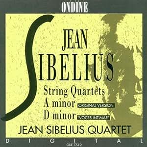Sibelius:  String Quartet in a