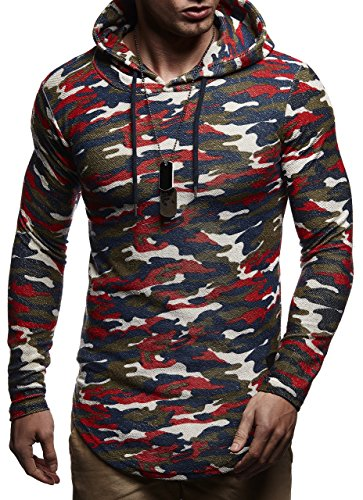 Avec Ln6300 Rot Des Sweatshirt À Capuche Hommes Nelson Pour Leif Pull Camouflage Pullover Longsleeve Sweater Hoodie wTgBx