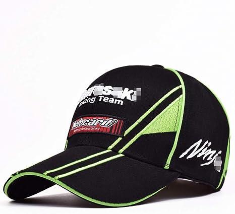 Vinteen Gorra de béisbol de Motocicleta Kawasaki Equitación Racing ...