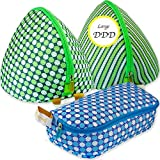 Queensell BIG BRA Wash Bag 3 Set - Mesh Bra & Panty laundry - Bag Bra Shell - Underwire Saver