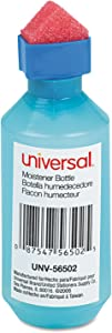 Universal Office Products - Moistener,Squeeze Bottle