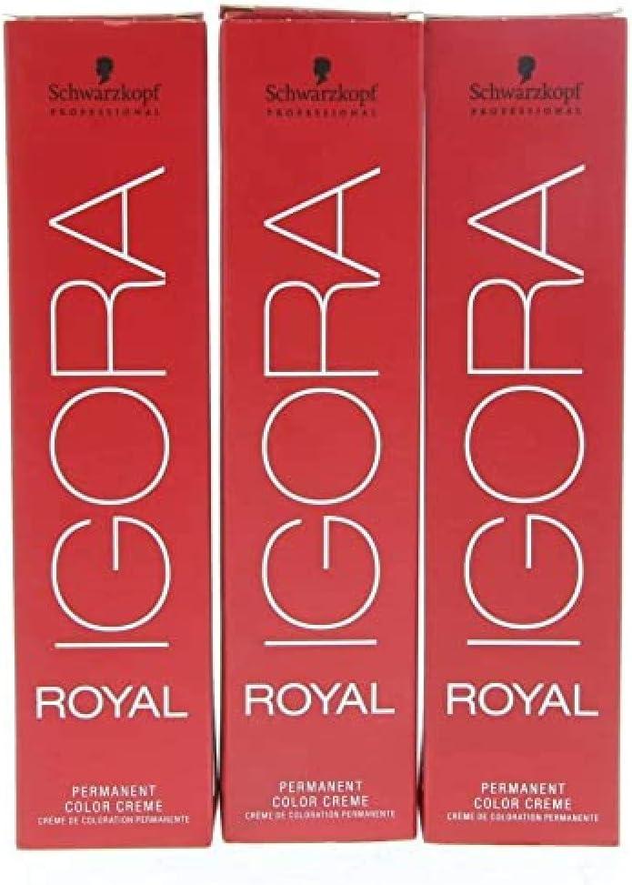 Schwarzkopf Igora Royal 9,5-4 rubio platino beige, 77 g