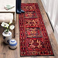Safavieh Vintage Hamadan Collection VTH213A Red and Multi Runner (22 x 18)