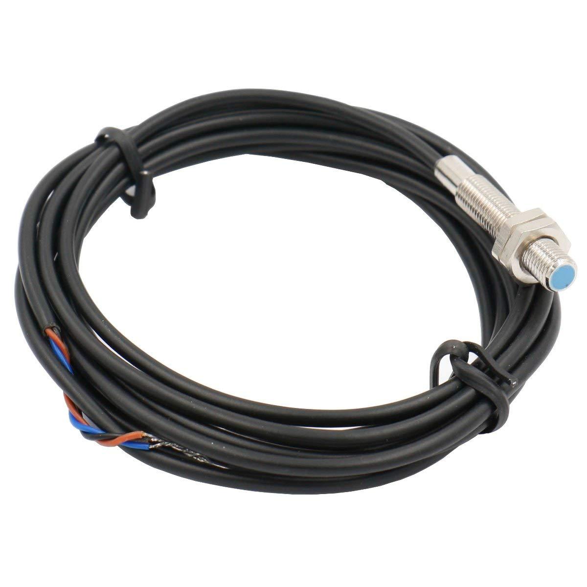 Heschen Induktiver N/äherungsschalter LJ6A3-1-Z//BY Detektor 1mm 6-36 VDC 300mA PNP normal offen 3 Draht NO