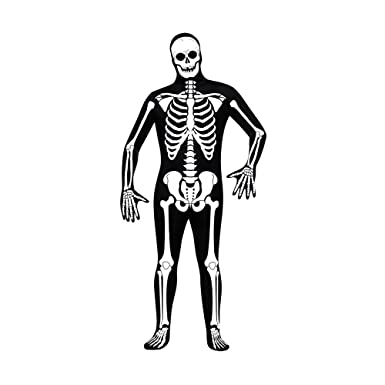 8807c8c2ec4a84 Amazon.com: Fun World Men's Morris Adult Halloween Skin Suit ...