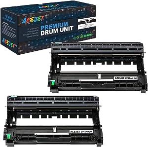 ACEJET Compatible E310 Drum Unit Replacement for Dell E310dw Drum Cartridge Drum Unit for Use inDell E310 E514 E515 Laser Printers(Black 2-Pack)