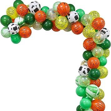 Amazon.com: Juego de 70 globos de decoración para fiestas de ...
