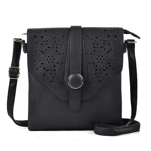 6f3d134b087e GLITZALL Women's Crossbody Messenger Bag for work Shoudle Satchel Bag
