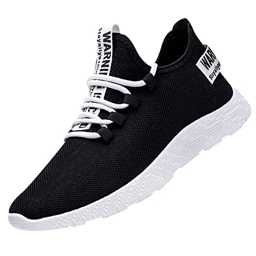b868b04a1a467 Amazon.com: Sneakers for Men Casual Comfortable Sports Running Shoe ...