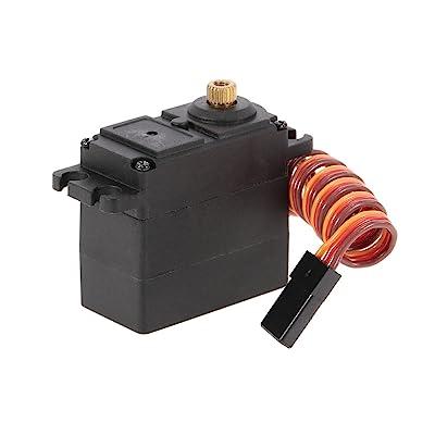 Goolsky Mini 2.8Kg 3 Wire Metal Gear Steering Servo for FY01 FY02 FY03 FY04 FY05 FY06 FY07 SUBOTECH 1/12 RC Car: Toys & Games