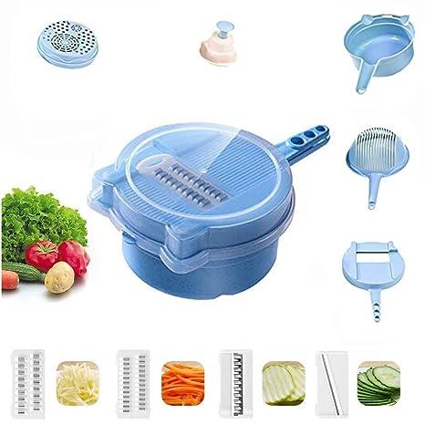 Amazon.com: Cortador de verduras en espiral, 9 en 1 ...