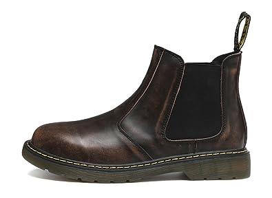 Honeystore Unisex-Erwachsene Bootsschuhe Derby Stiefeletten Kurzschaft Stiefel Winter Boots für Herren Damen Schwarz 42 CN O7DQr