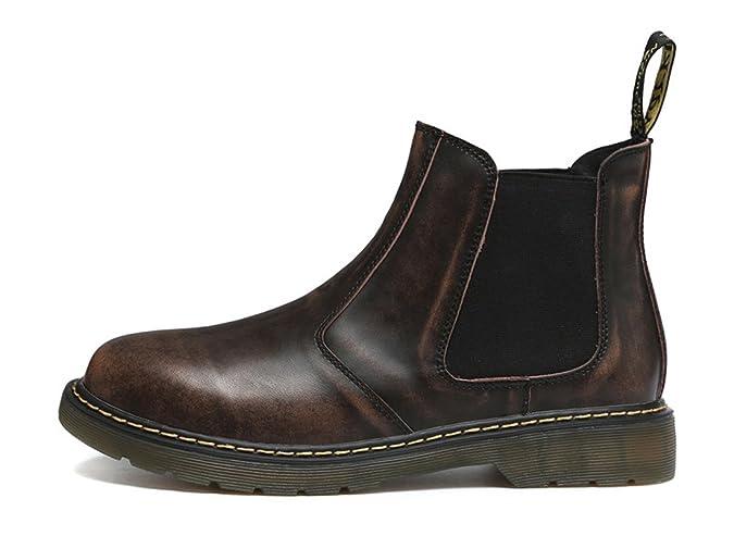 Honeystore Unisex-Erwachsene Bootsschuhe Derby Stiefeletten Kurzschaft Stiefel Winter Boots für Herren Damen Braun 39 CN Kgjcfl8