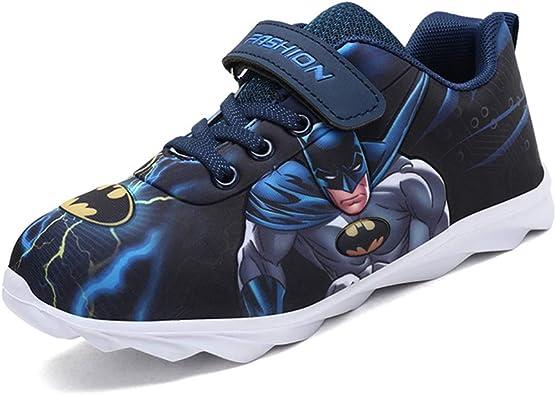 SPKIDS Kids Boys Batman Sneakers Girls