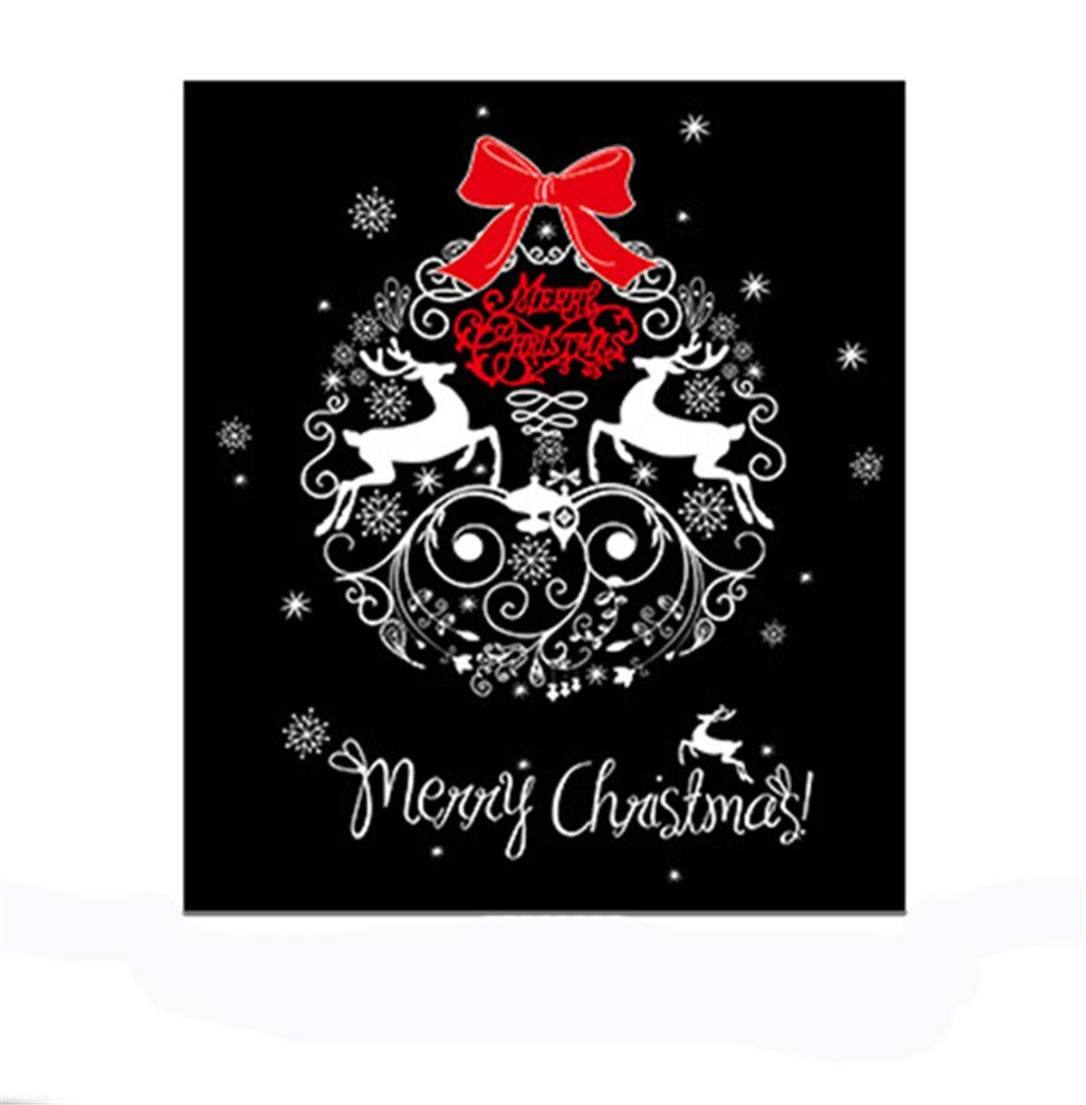 Amazon com wall stickers for bedroom,wall sticker manufacturers xh7241 wholesale christmas elk celebration christmas glass window bedroom removable wall