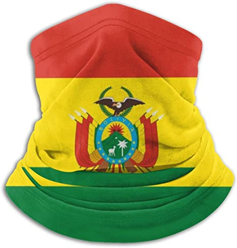 Archiba Polaina de Cuello de Bandera de Bolivia, mascarilla, Bufanda mágica, pañuelo, pasamontañas, Diadema: Amazon.es: Deportes y aire libre