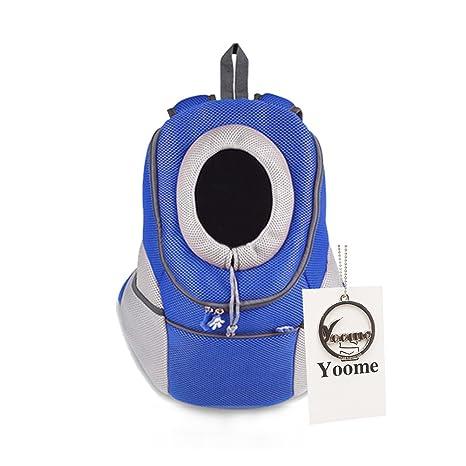 Yoome - Mochila de transporte para perros y gatos de estilo más reciente y cómodo para llevar ...
