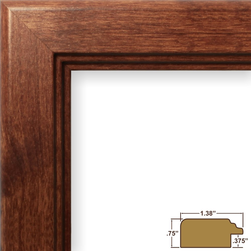 Craig frames 16x24 inch picture frame smooth wrap finish 138 craig frames 16x24 inch picture frame smooth wrap finish 138 inch wide canadian walnut 14031 amazon home kitchen jeuxipadfo Images