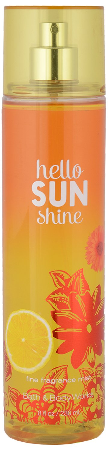 Bath & Body Works Hello Sunshine Fine Fragrance Mist 8 Oz